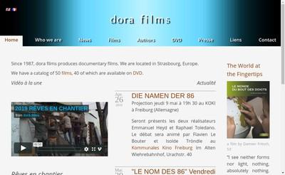 Site internet de Dora Films SAS