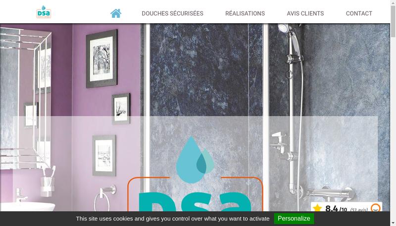 Capture d'écran du site de Dsa - Tsa - Ds Lowcost - Total Pmr - Bibba