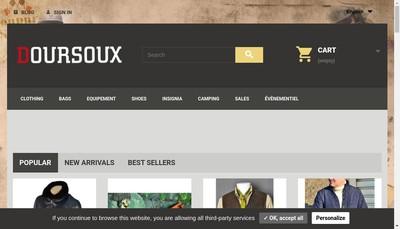 Site internet de Doursoux