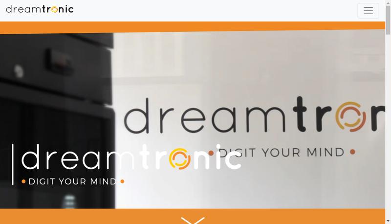 Site internet de Dreamtronic