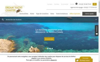 Site internet de Dreamyacht