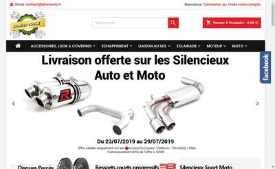 Site internet de Drive Only