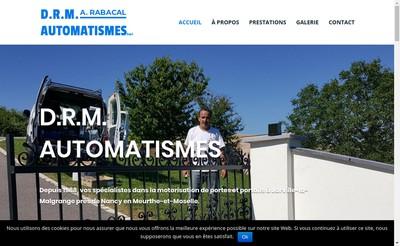 Site internet de Drm Automatismes