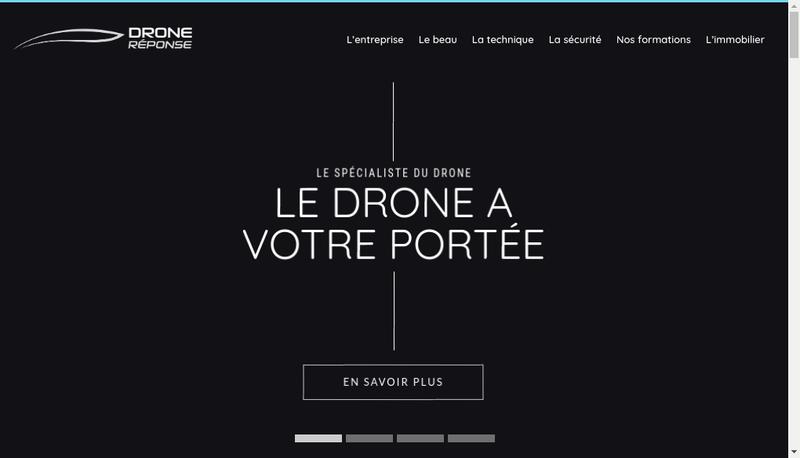 Capture d'écran du site de Pro Management