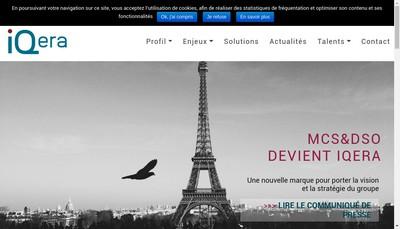 Site internet de Iqera