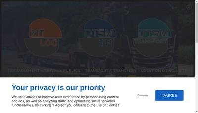 Site internet de Dtsm Tp