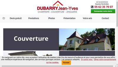 Site internet de EURL Dubarry Jean-Yves