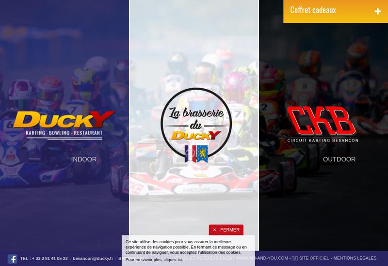 Site internet de Ducky