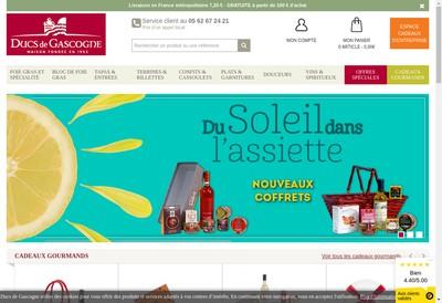Site internet de Ducs de Gascogne