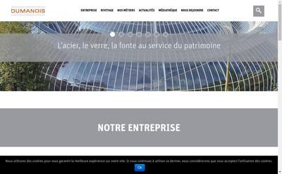 Site internet de Dumanois