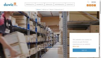 Site internet de Duwic