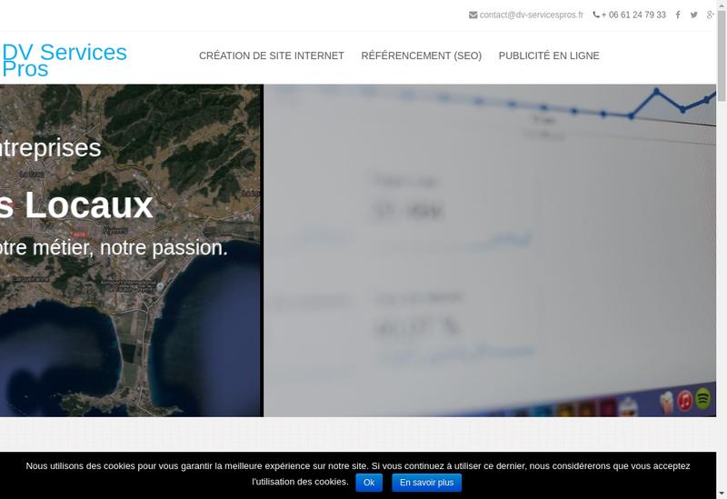 Capture d'écran du site de Devis Varois