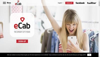 Site internet de Ecab