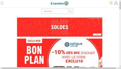 Site internet de Centre Distributeur E Leclerc