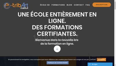 Site internet de E-Tribart