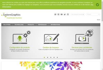 Site internet de Easterngraphics France SAS