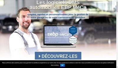 Site internet de Ebp Meca