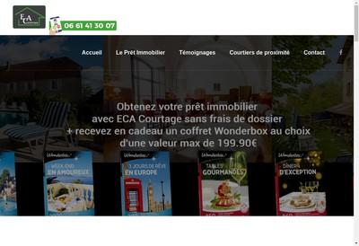 Site internet de Eca Courtage