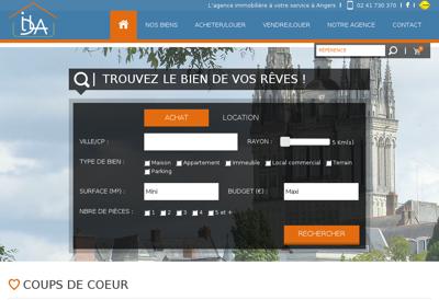 Capture d'écran du site de Ecacy