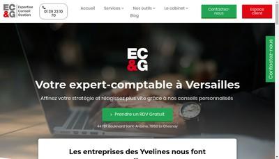Site internet de Ecg Conseils