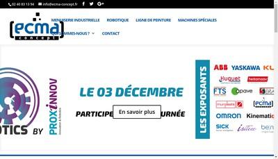 Site internet de Ecma Concept