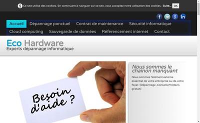 Site internet de Eco Hardware