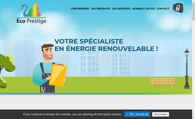Site internet de Eco'Prestige