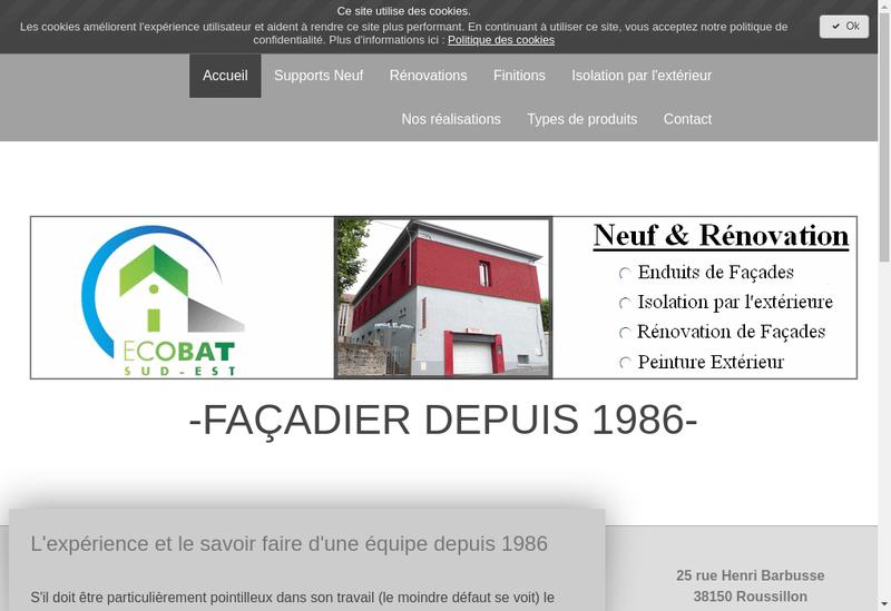 Capture d'écran du site de Mgt Construction - Mgt Construction Rh