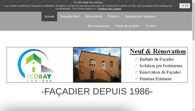 Site internet de Mgt Construction - Mgt Construction Rhone - Mgt Construction Drome