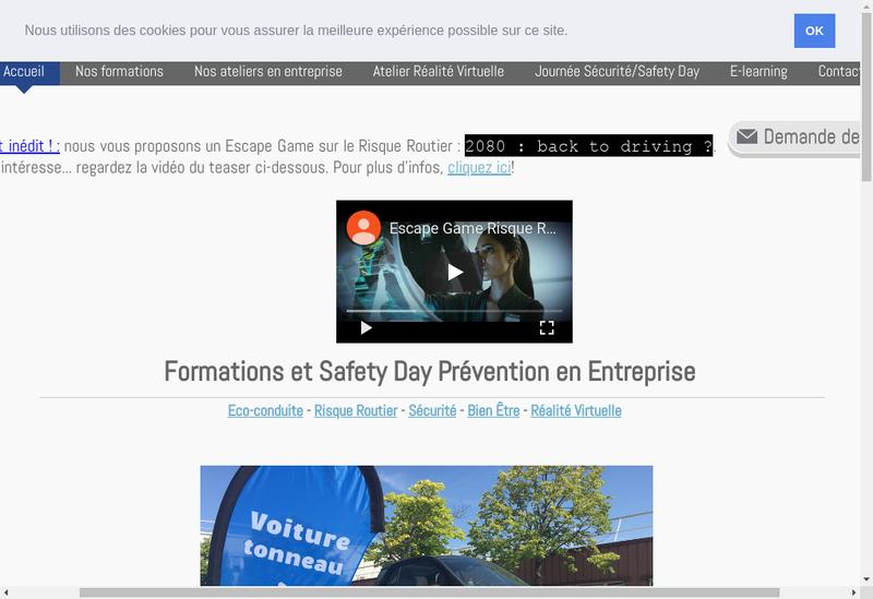 Capture d'écran du site de Ecocivicom