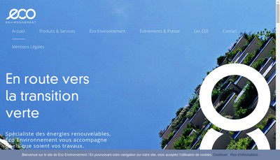 Site internet de Ecosol, Ecoiso, Ecopac, Lecologie, Avenir Ecologie