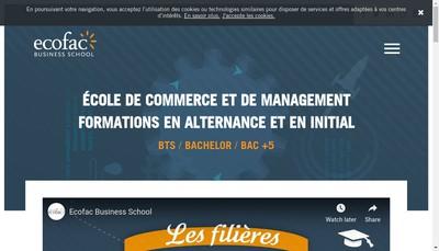 Site internet de Ecofac