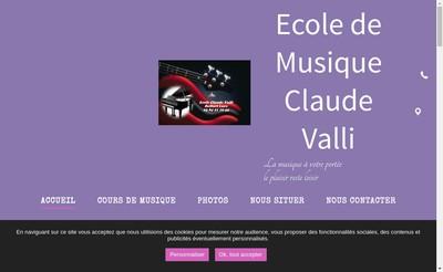 Site internet de Claude Valli