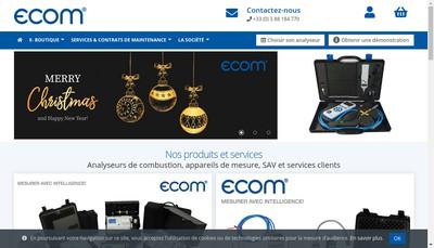 Site internet de Ecom