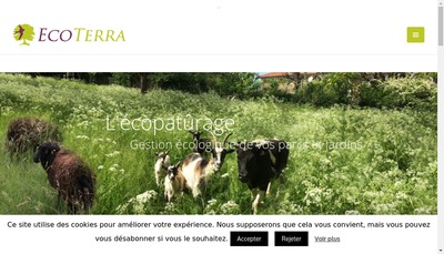 Site internet de Eco Terra
