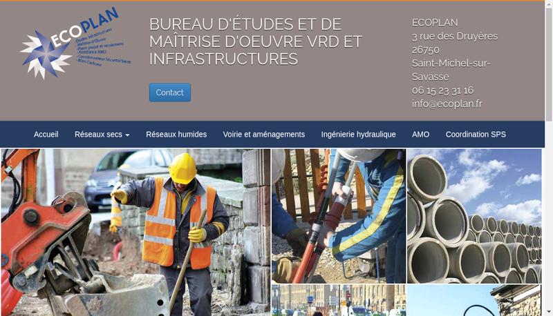Site internet de Ecoplan