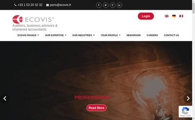 Site internet de Ecovis France