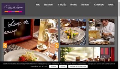 Site internet de L'Ecrin des Saveurs