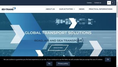 Site internet de Ed-Trans