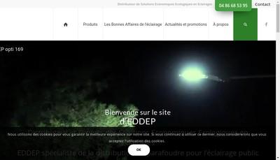 Site internet de Eddep