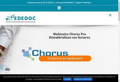 Site internet de Ededoc