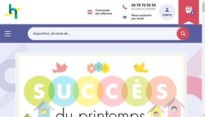 Site internet de Les Editions de Saxe