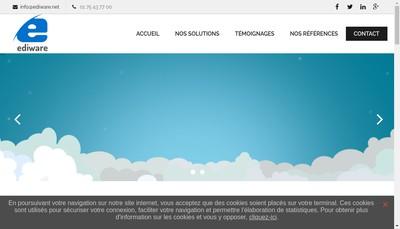 Site internet de Ediware