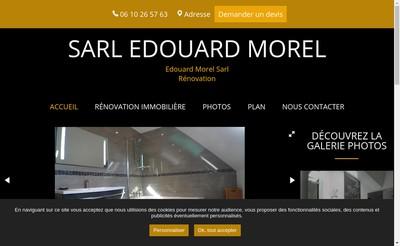 Site internet de SARL Edouard Morel