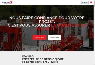 Site internet de Edyneo