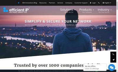 Site internet de Efficient Ip