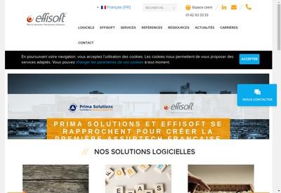 Site internet de Effisoft