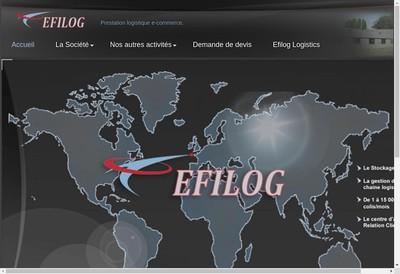 Site internet de Efilog