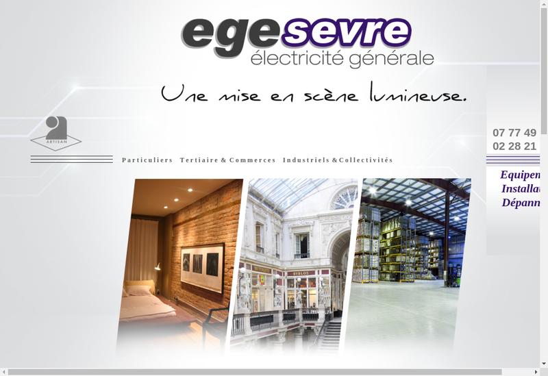 Capture d'écran du site de Egesevre