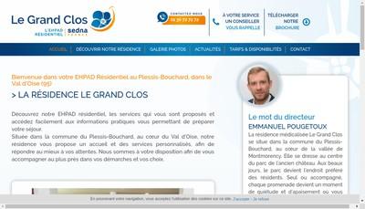 Site internet de Residence le Grand Clos